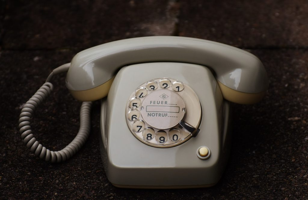traditional telephone